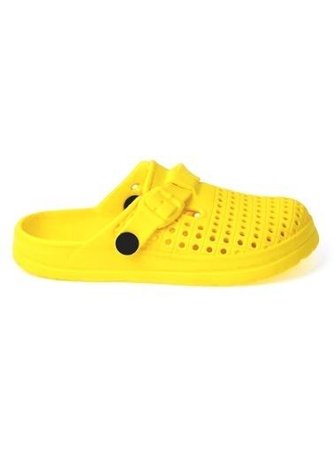 Kiko Kids Kiko Akn E163.000 Plaj Havuz Banyo Kız/Erkek Çocuk Sandalet Terlik Sarı